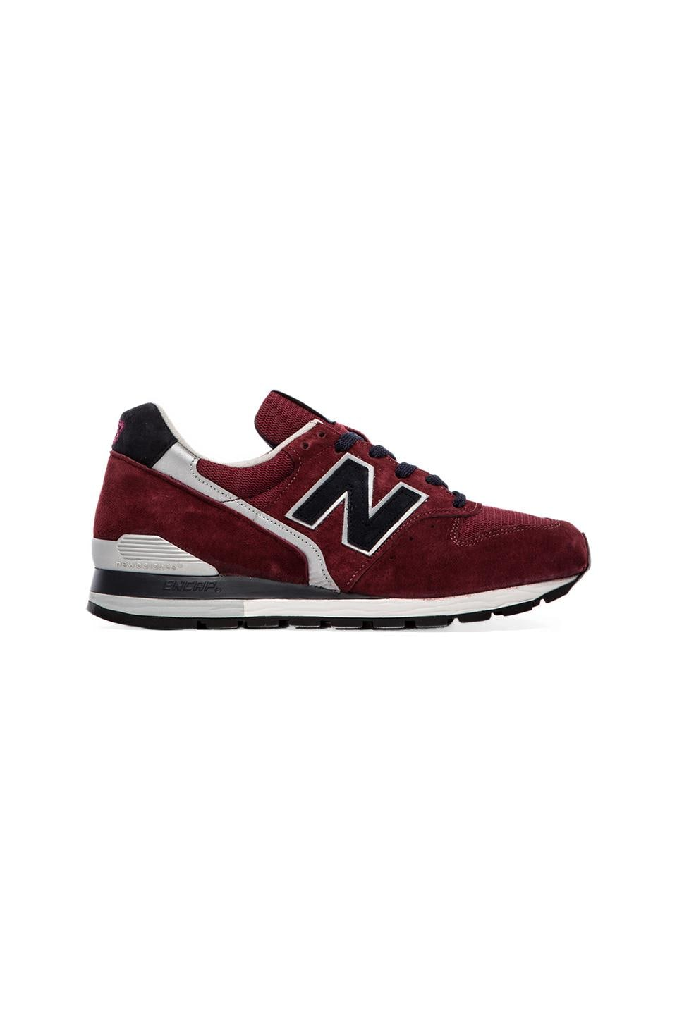 New Balance Made in the USA M996 Burgundy