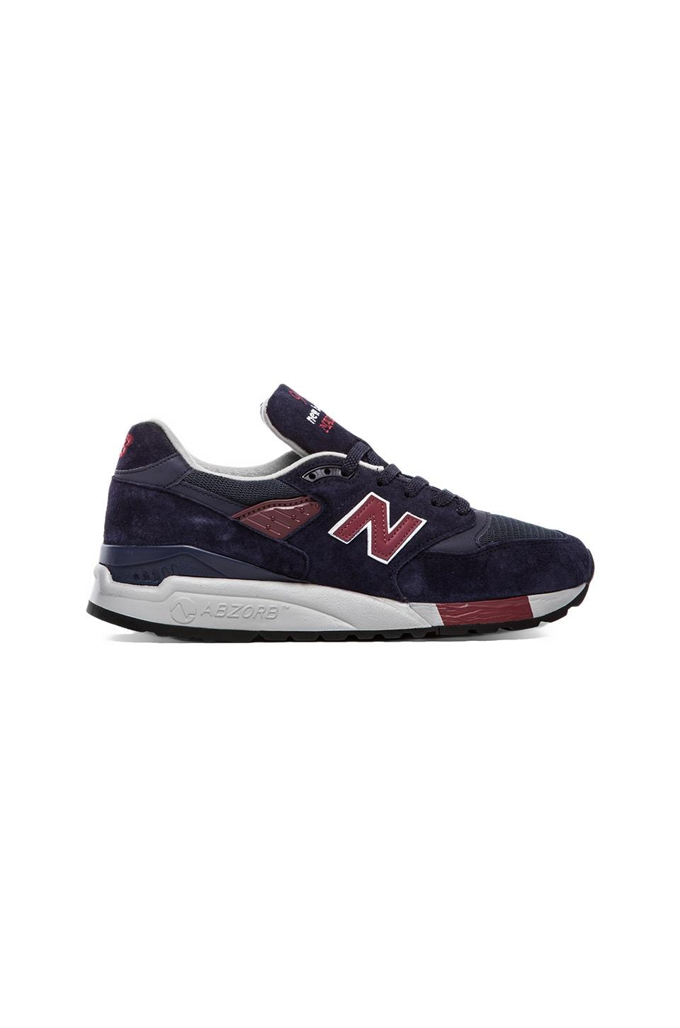 New Balance Made in the USA M998 in Navy