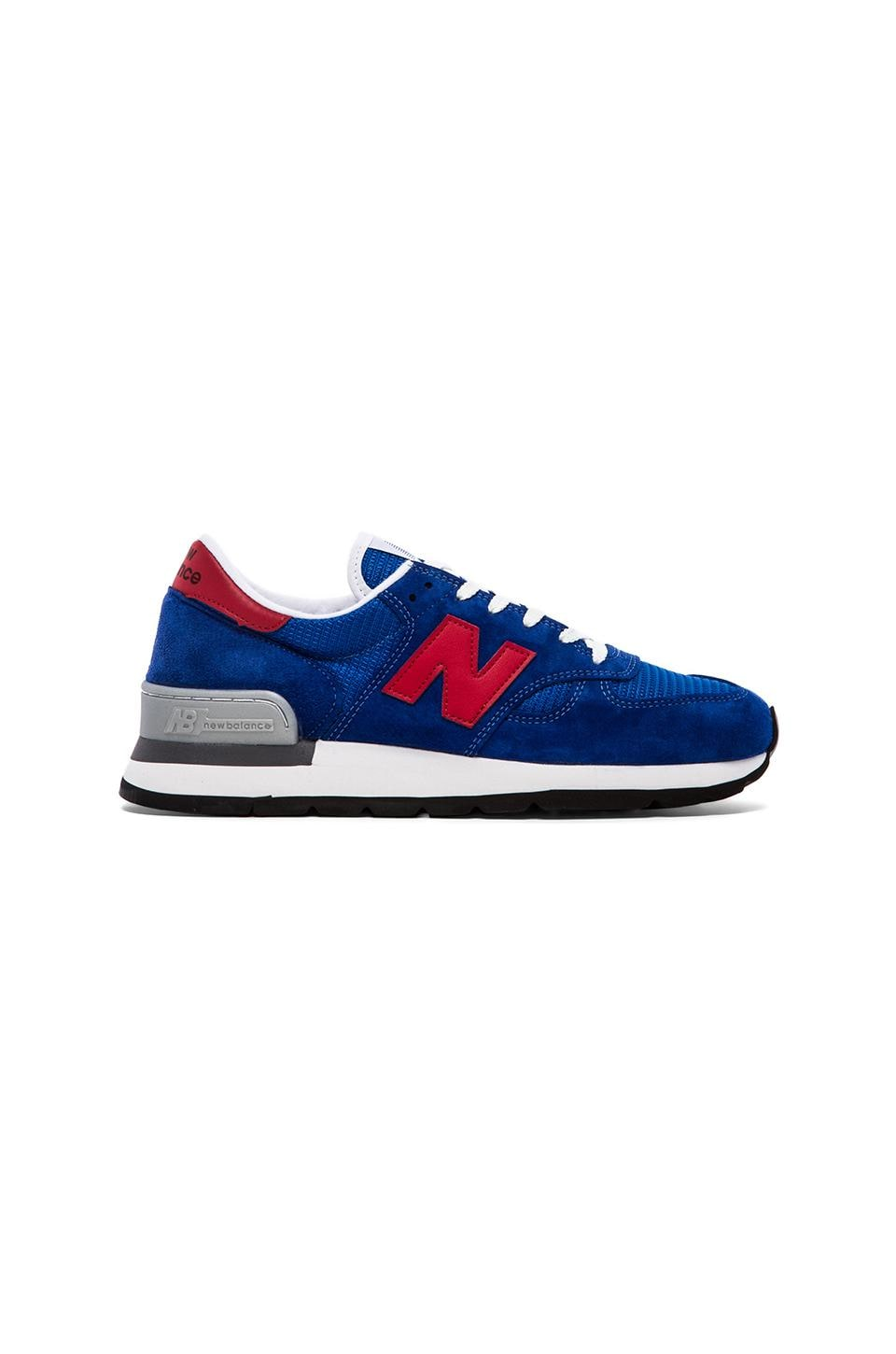 New Balance Made in USA M990 in Blue Suede