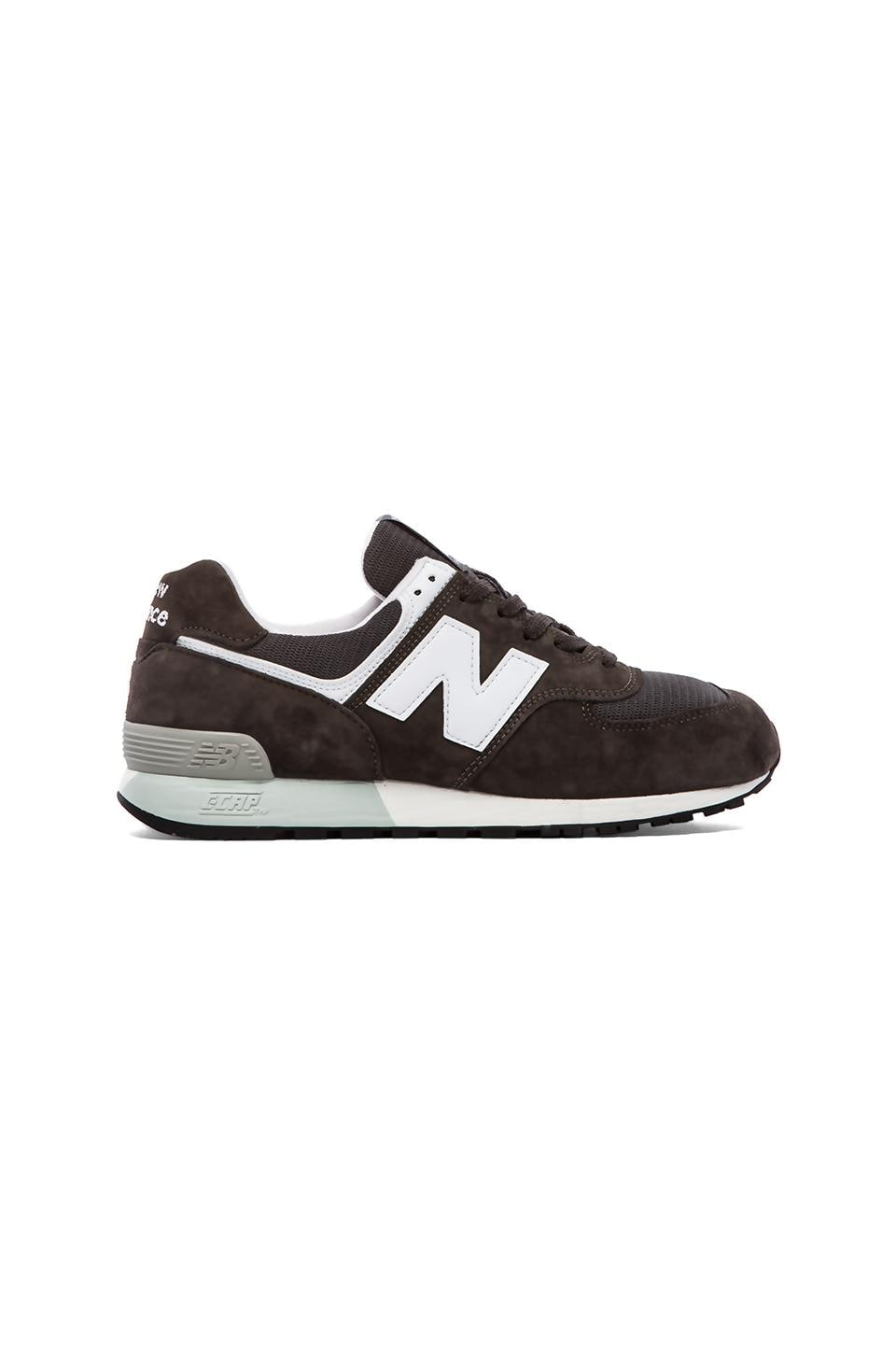 New Balance Made in USA US576 in Grey & White