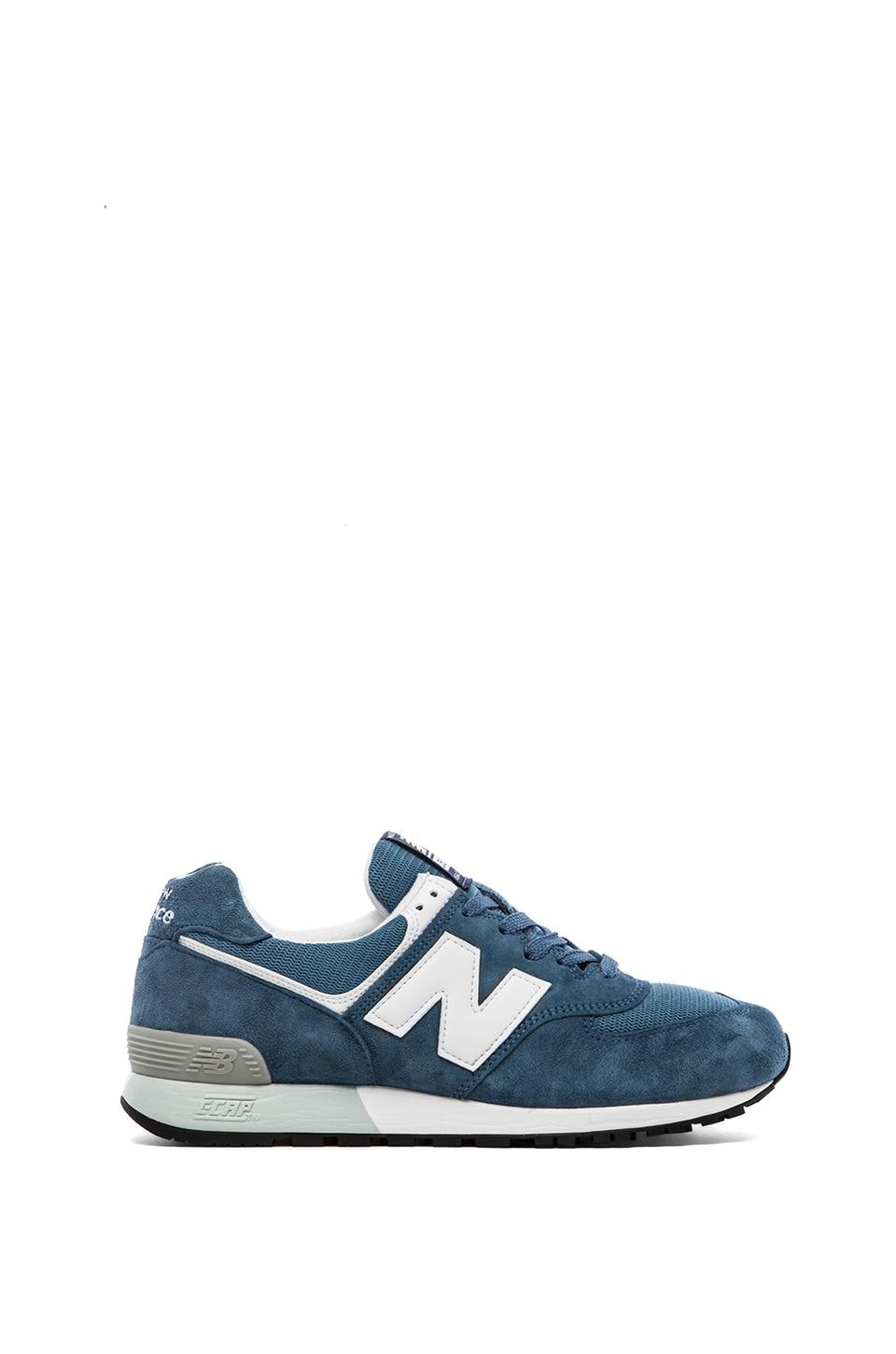 New Balance Made in USA US576 in Blue & White