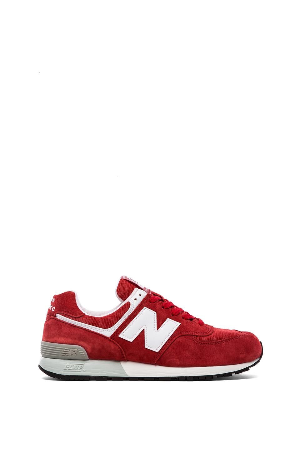 New Balance Made in USA US576 in Red & White