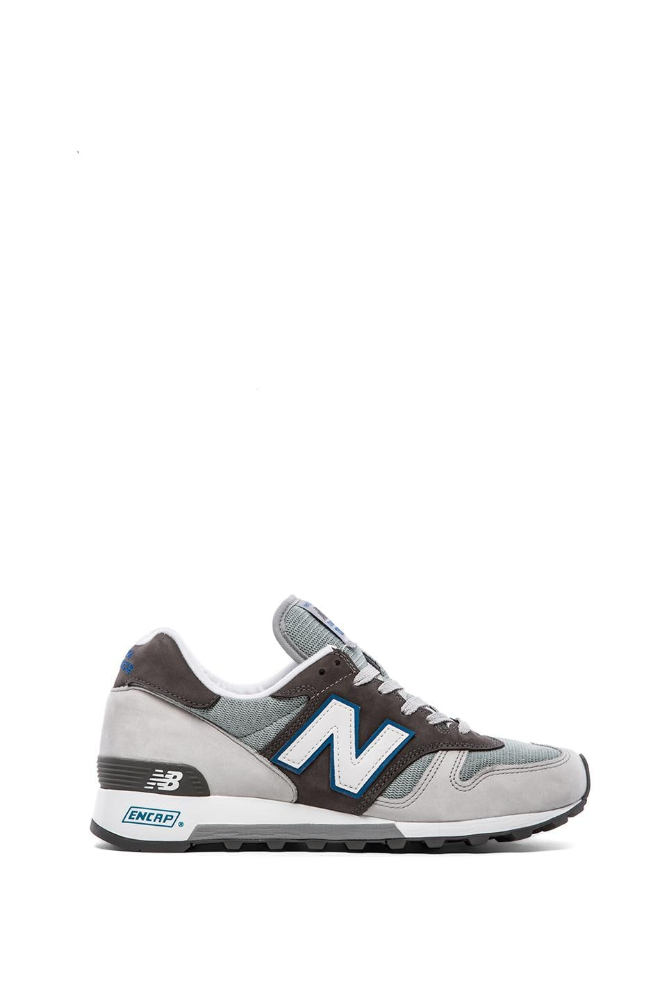 New Balance Made in USA M1300 in Blue Nubuck Mesh