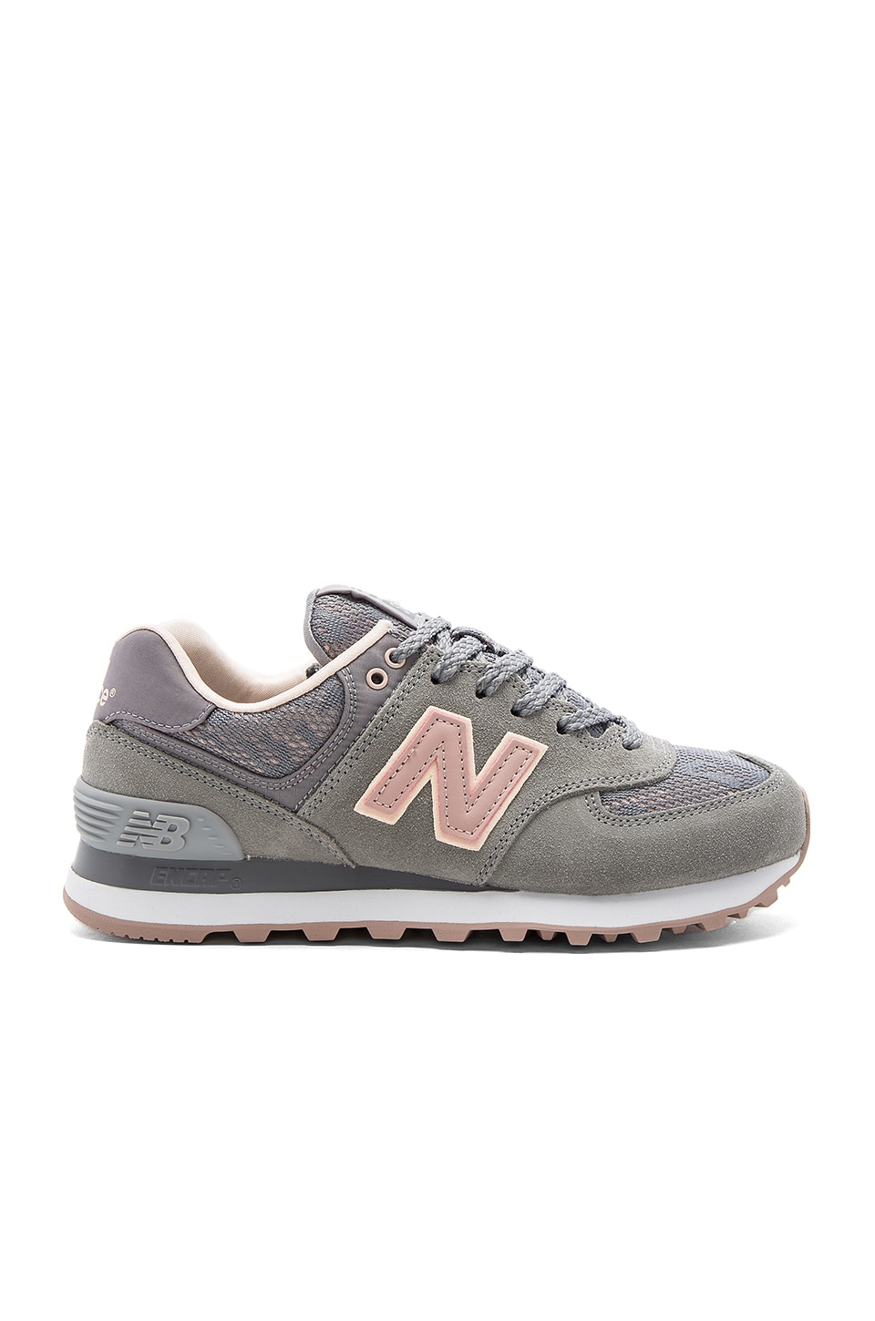 New Balance Nouveau Lace Sneaker in Steel, Charm, & Shell