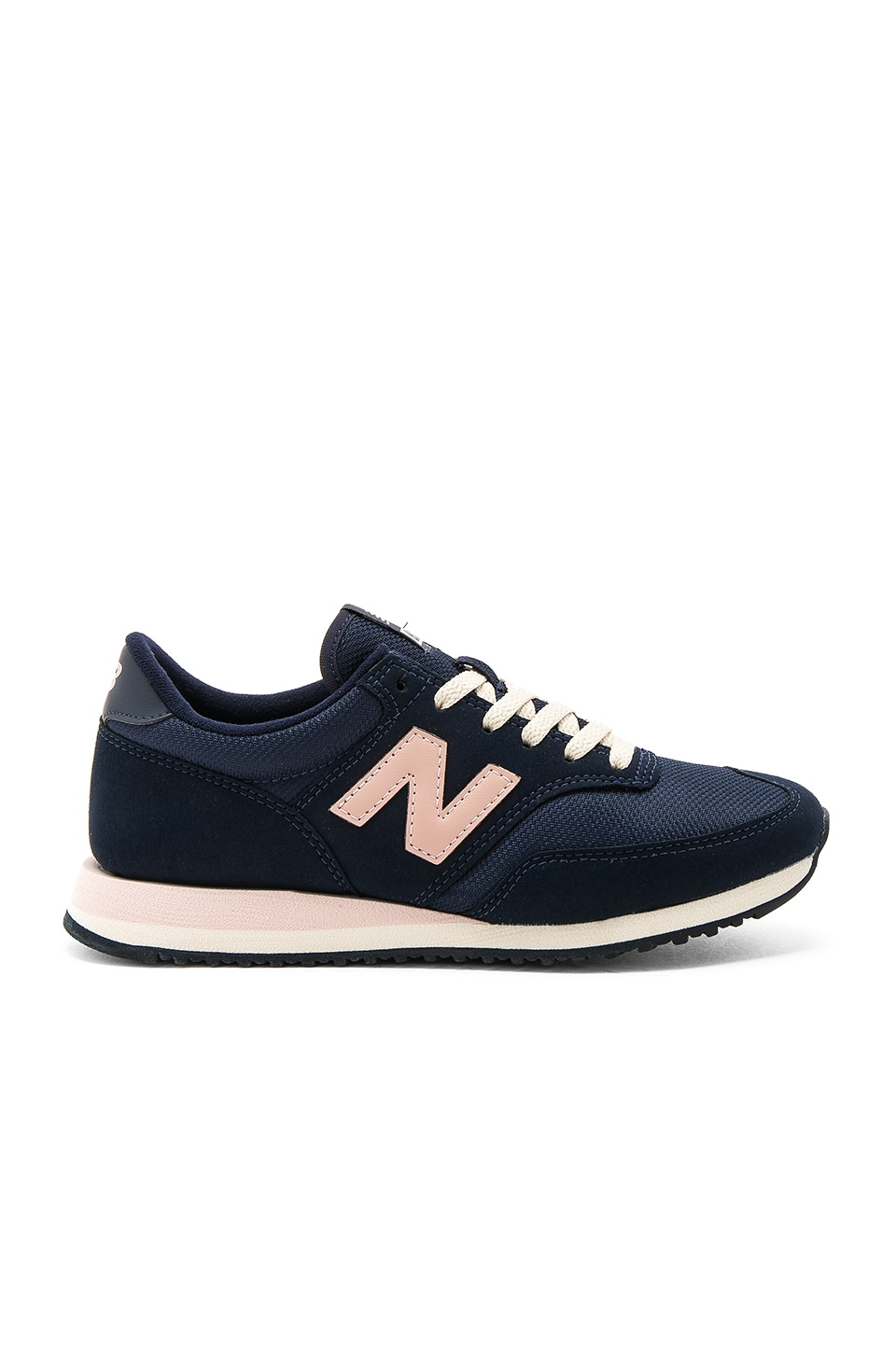 New Balance 620 Sneaker in Navy & Pink