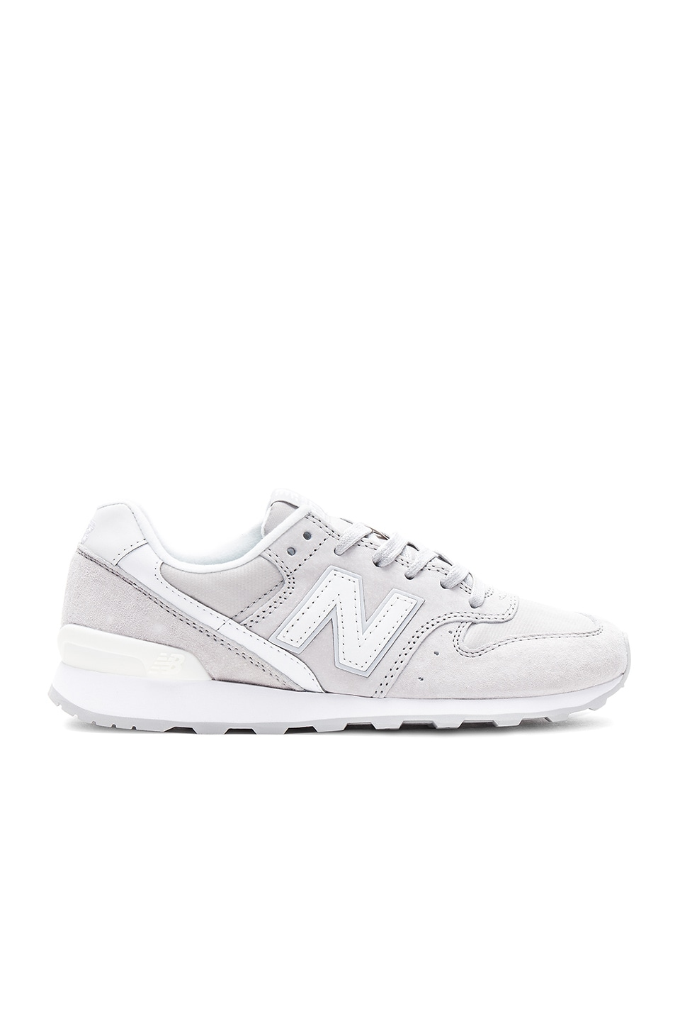 new style 26fef a15ac New Balance 696 Sneaker in Overcast & Seasalt | REVOLVE
