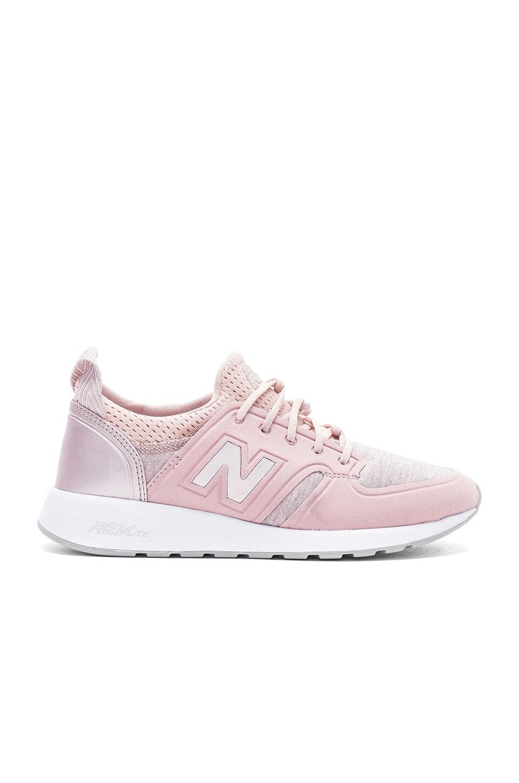 315e2dcea New Balance 420 Sneaker in Faded Rose & Champagne Metallic | REVOLVE