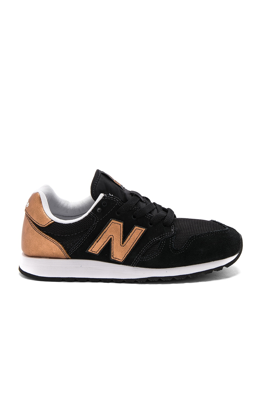 new balance 520 noir et or