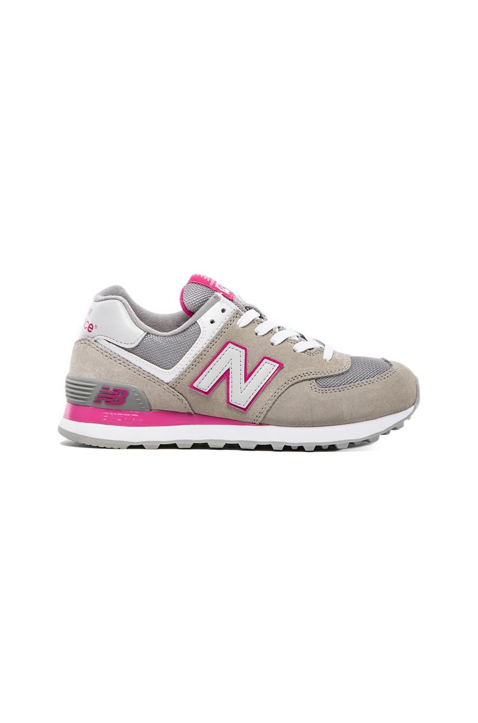 New Balance Кроссовки Core Plus Collection в цвете Light Grey