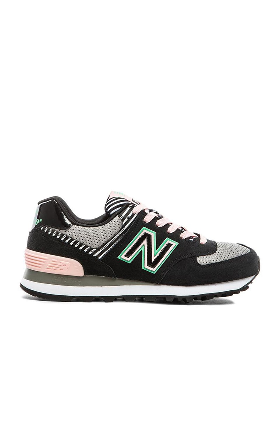 New Balance Palm Springs Collection Sneaker in Black & Pink