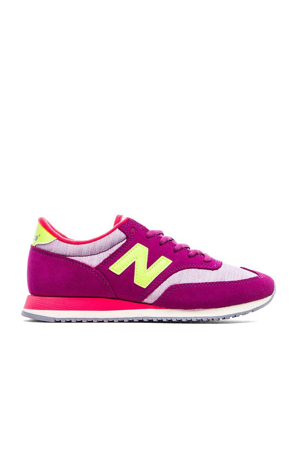 New Balance Capsule Collection in Purple & Yellow