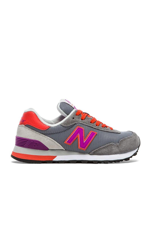 New Balance Modern Classics Sneaker in Grey & Purple