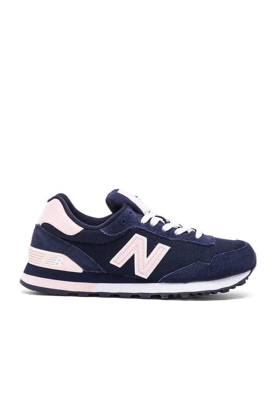 New Balance Classics Pique Polo Collection Sneaker in Navy & Pink