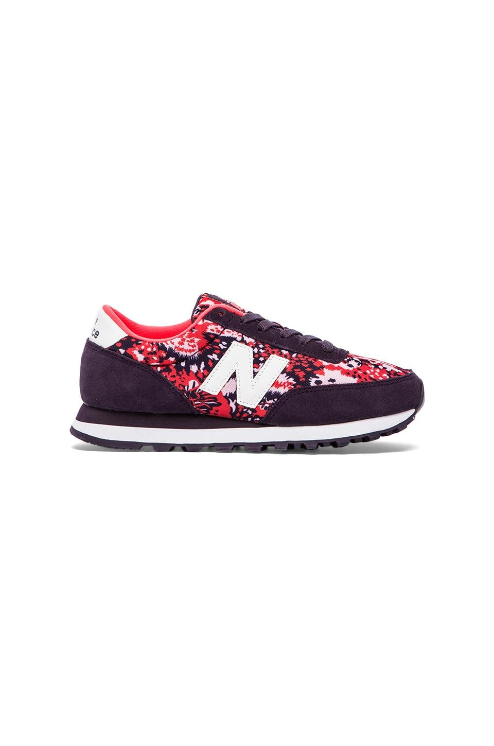 New Balance Camo Sneakers in Elderberry