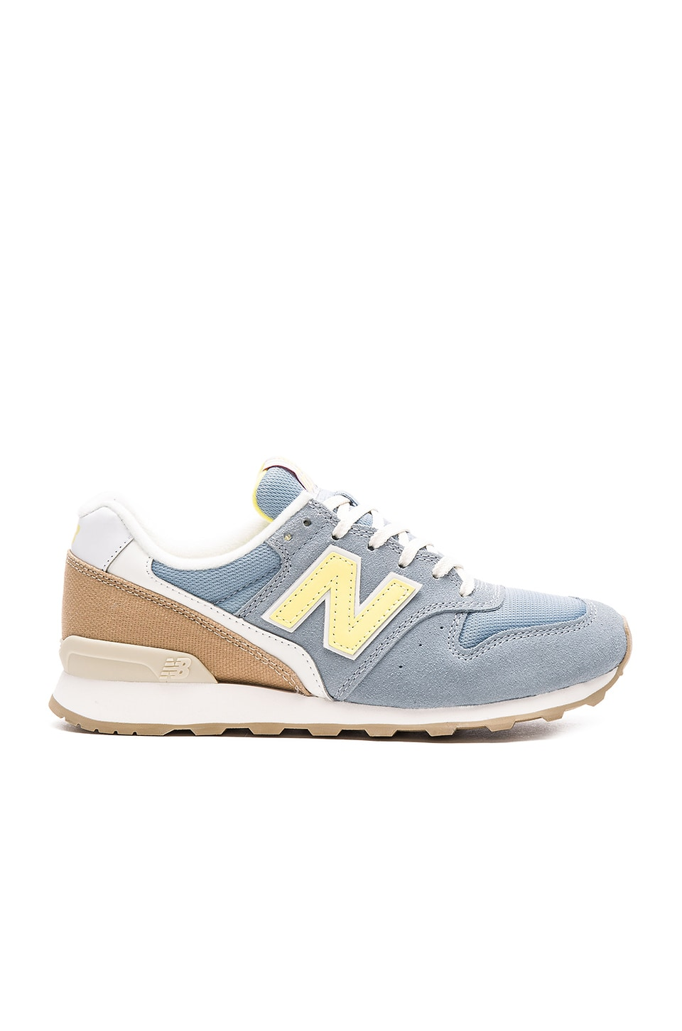 New Balance Lakeview Sneaker in Grey & Yellow