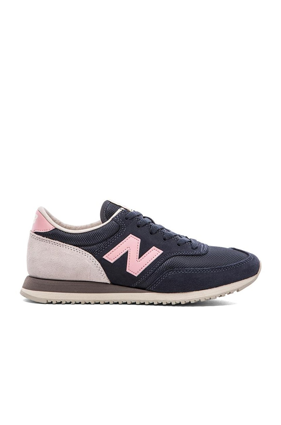 New Balance Classics '70s Running Collection Sneaker in Navy & Pink