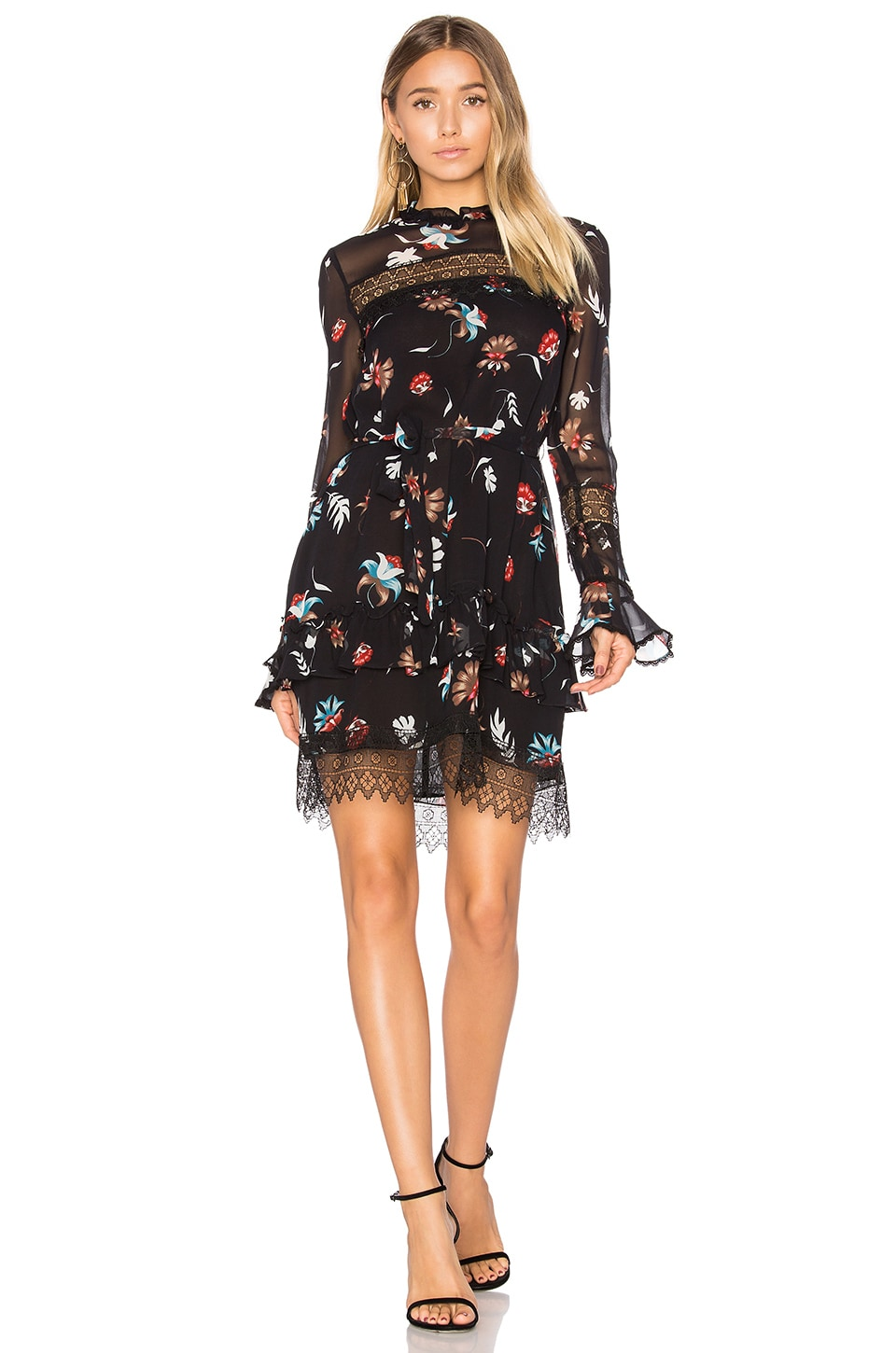 Whisper Floral Lace Dress by NICHOLAS