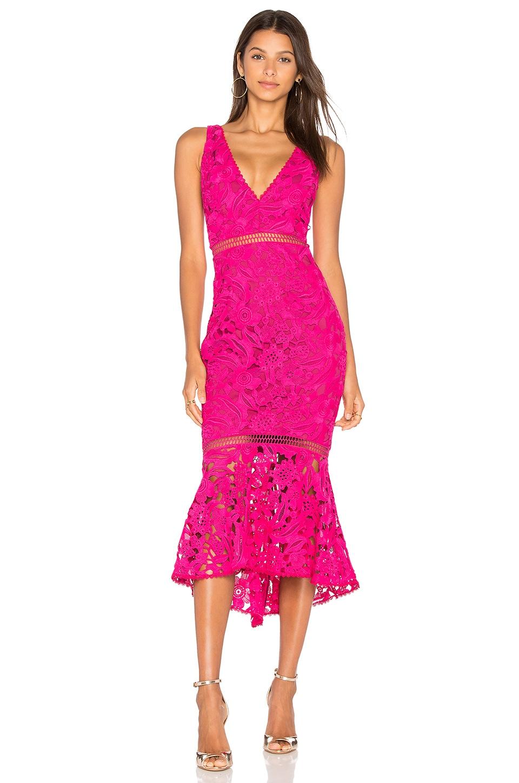 NICHOLAS Pink Azalia Lace Dress