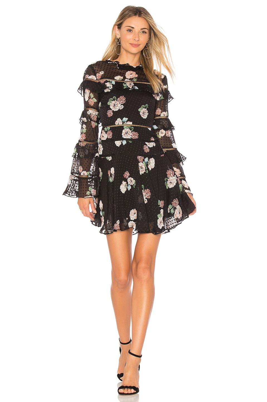 Rose Ruffle Dress