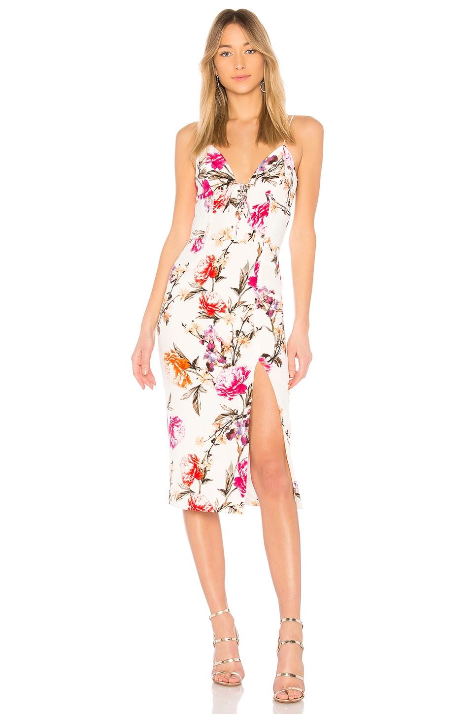 Lucile Floral Corset Bra Dress