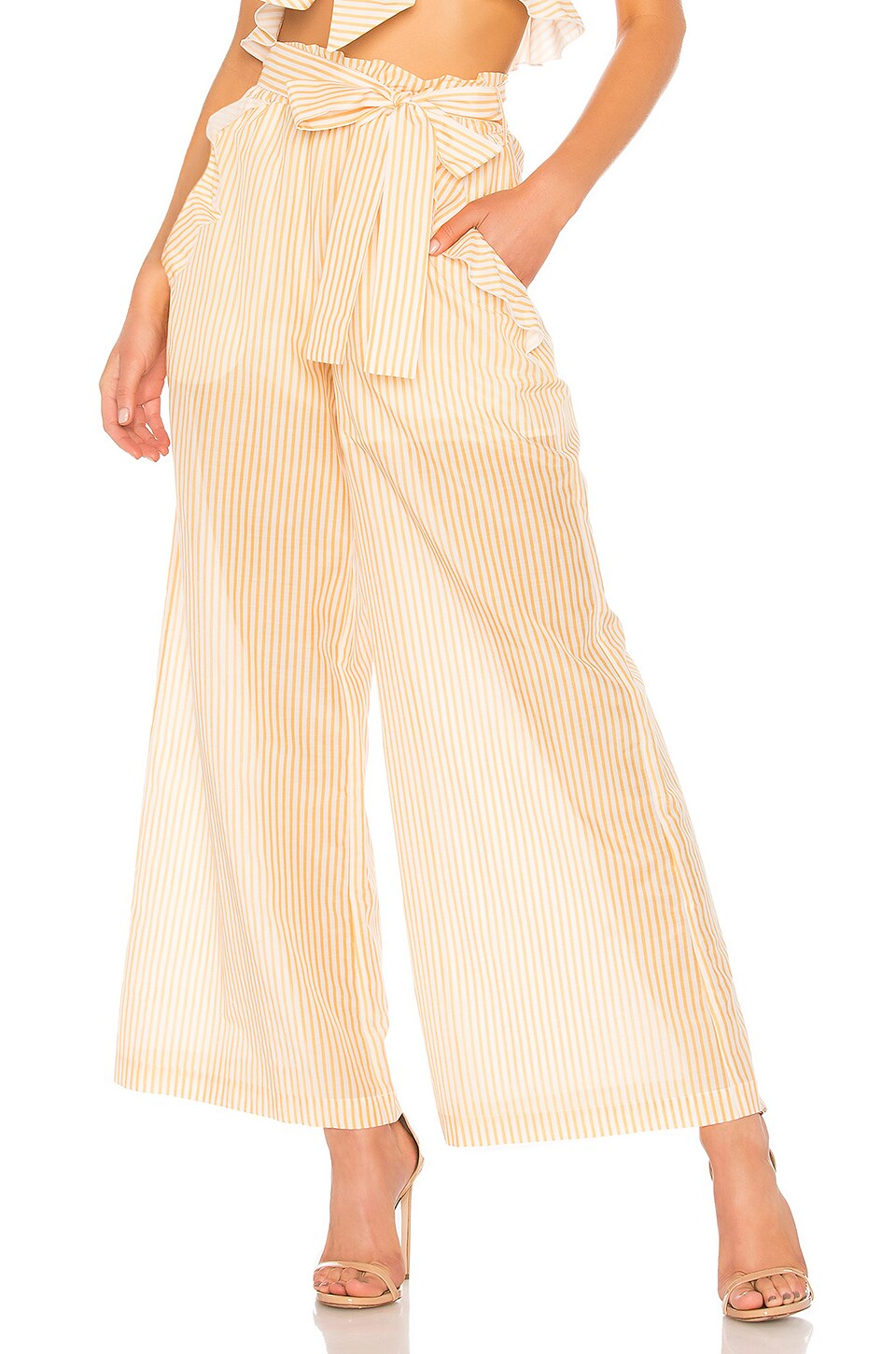 x REVOLVE Voile Frill Pant