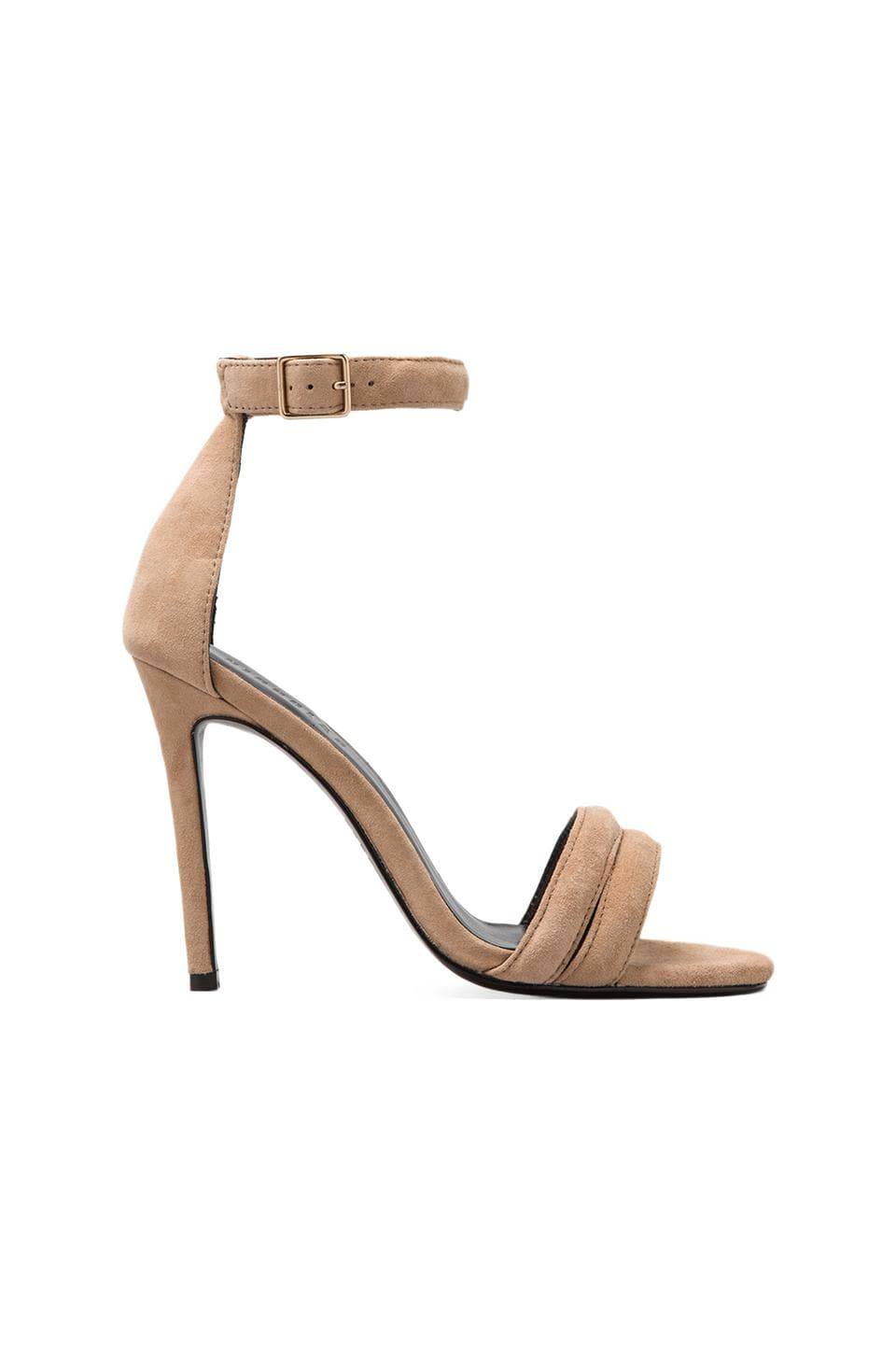 NICHOLAS Jocelyn Pump in Seashell Kid Suede