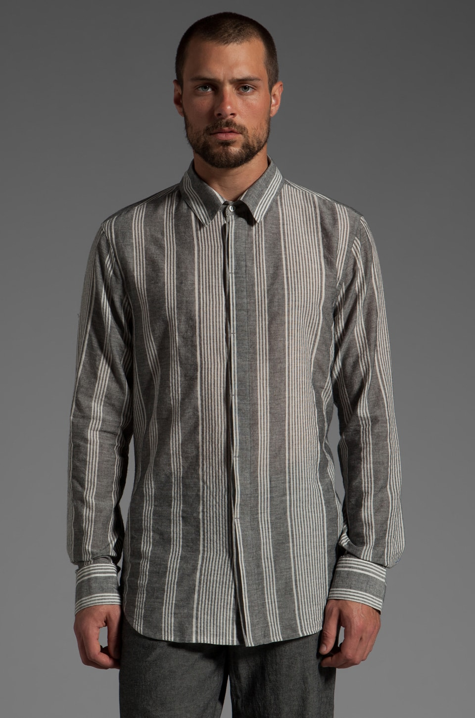 Nicholas K Tatom Shirt in Black