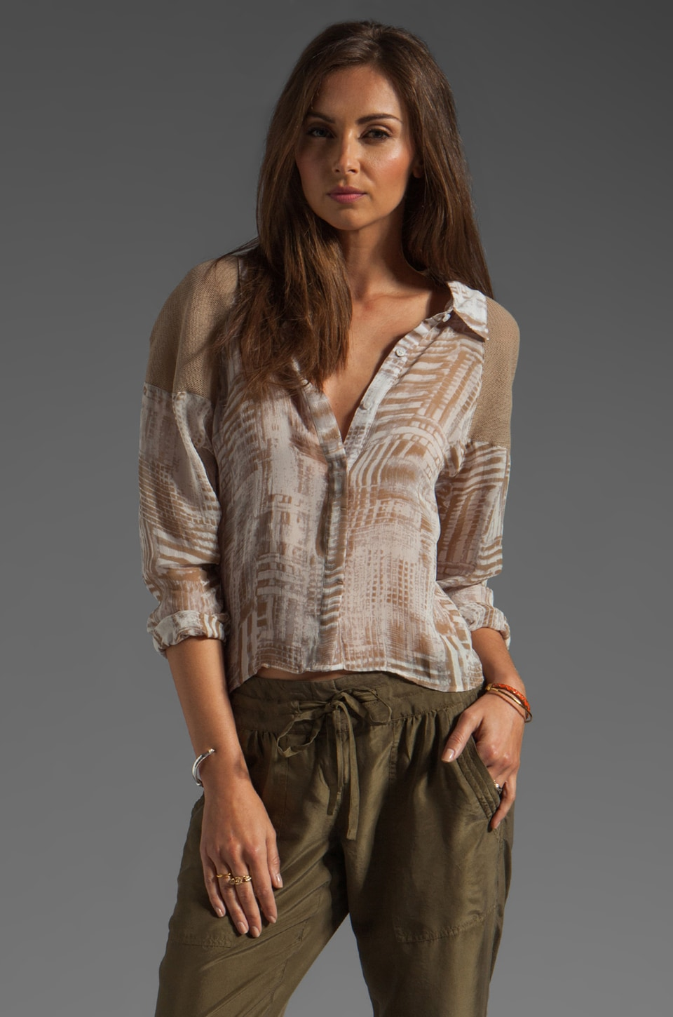 Nicholas K Blair Shirt en Sable