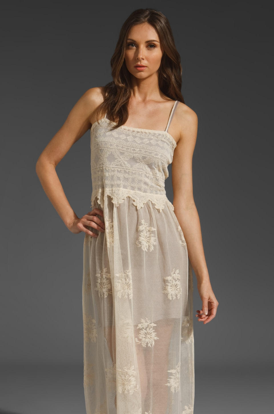 Nightcap Genevieve Gown in Natural
