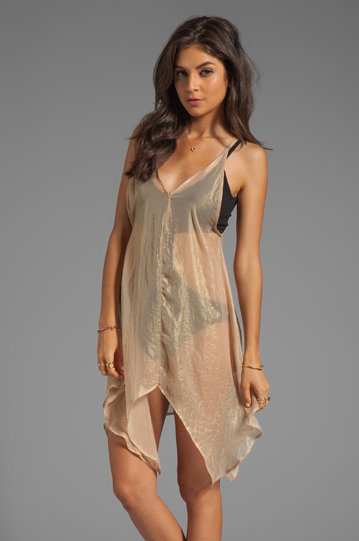 Nightcap Siren Dress in Gold