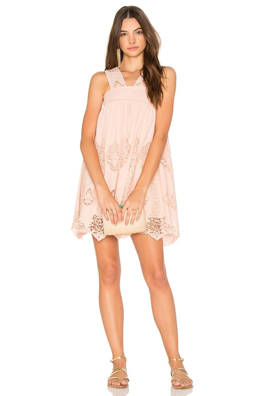 Nightcap Pixie Mini Dress in Pink