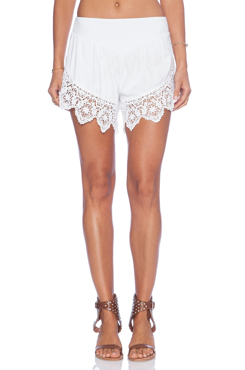 Nightcap Lounge Short in White