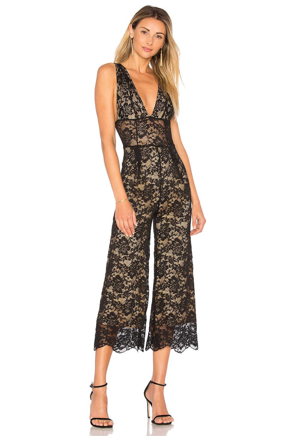 Decollete Jumpsuit by Nightcap
