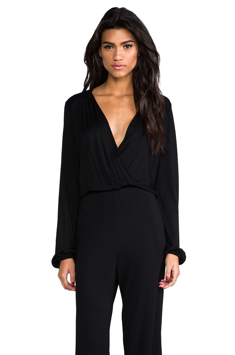 Nightcap BluRose Jumpsuit in Black