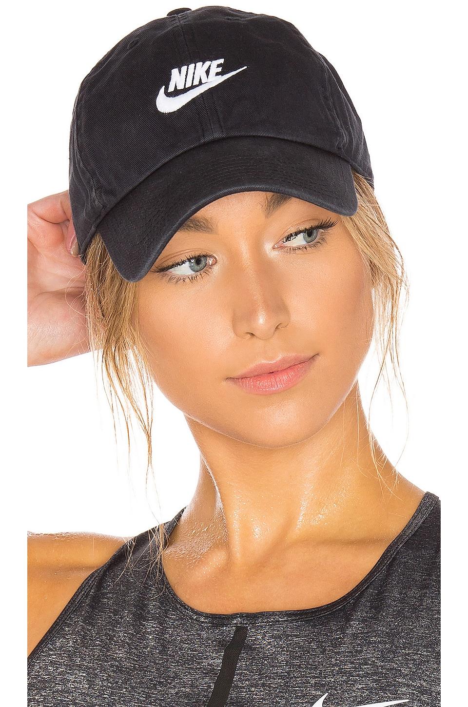 Nike Sportswear Futura Cap in Black