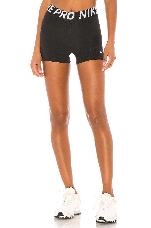 Nike NP 3in Short in Black & White