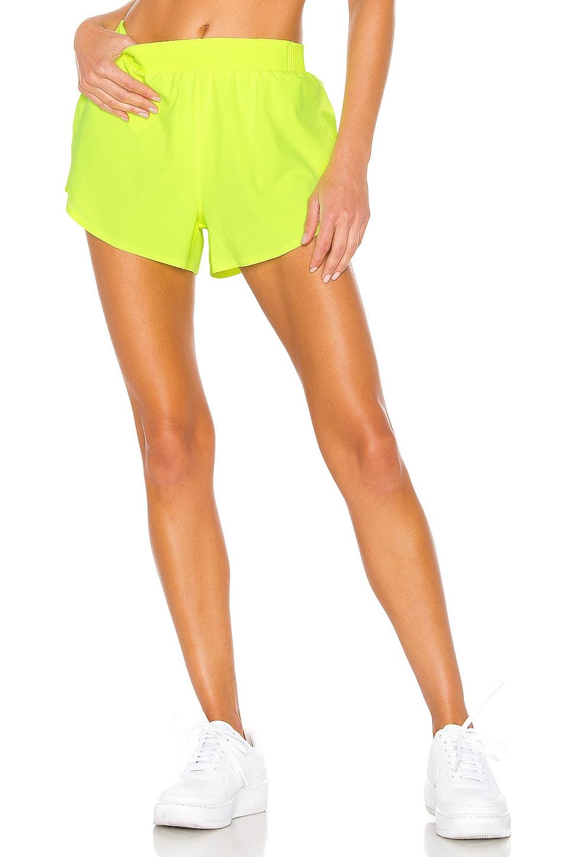 Nike Run Tech Pack Tempo Short in Green
