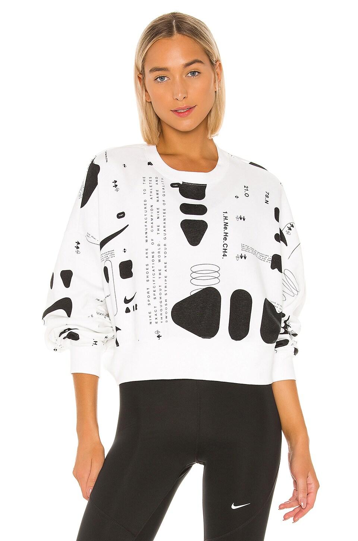 Nike Future Air Aop Crew Sweater in White