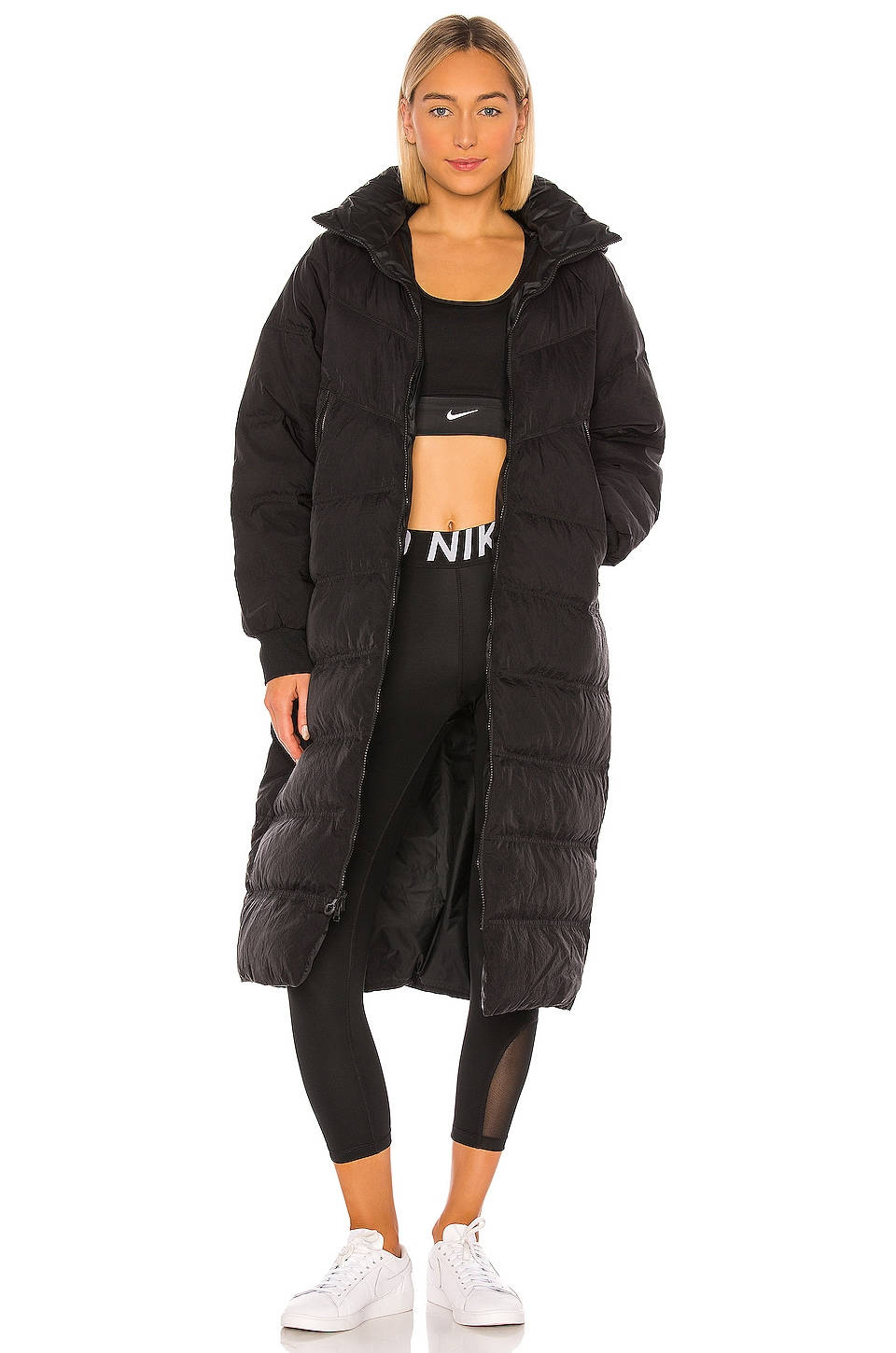 Nike NSW City Ready Down Parka in Black