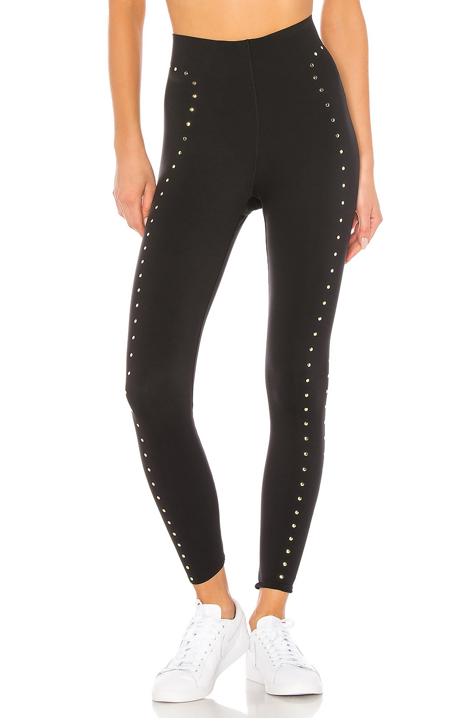 Nike NK Boutique Stud Tight in Black & Metallic Gold
