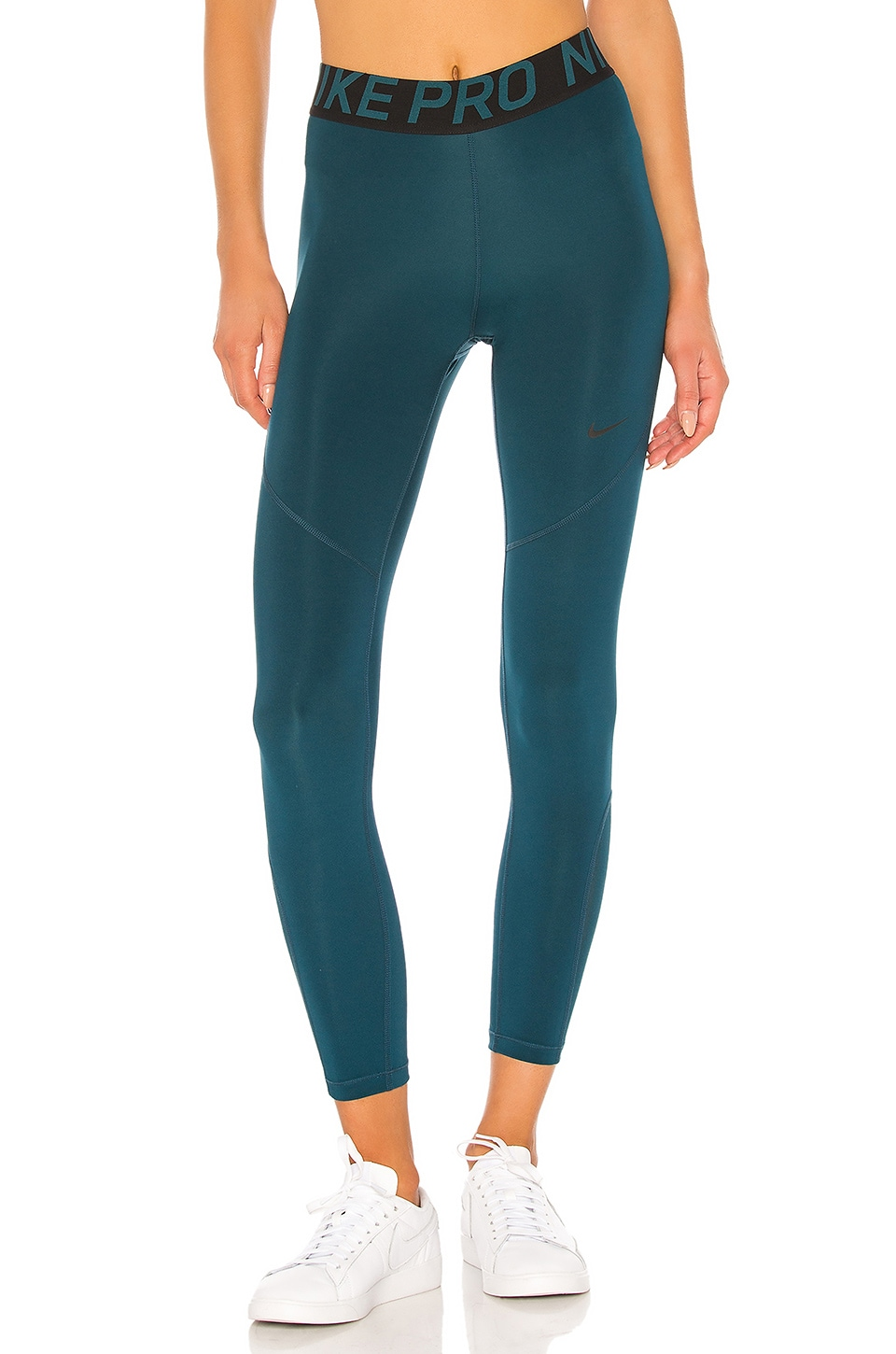 Nike NP Crop 7/8 Tight in Midnight Turquoise