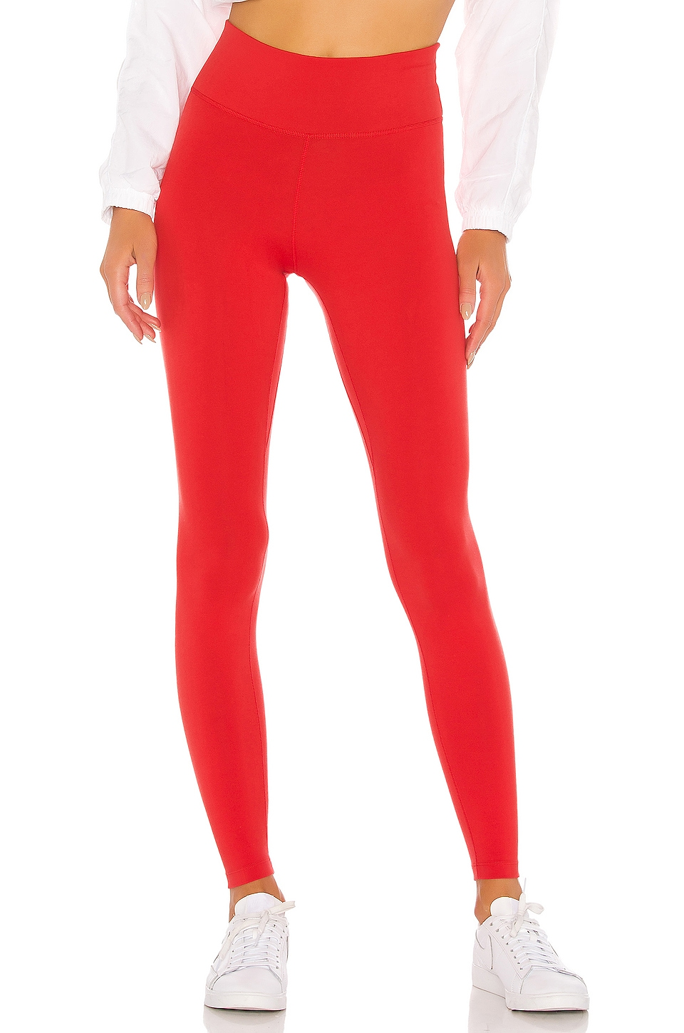 Nike One Tight in Track Red & White