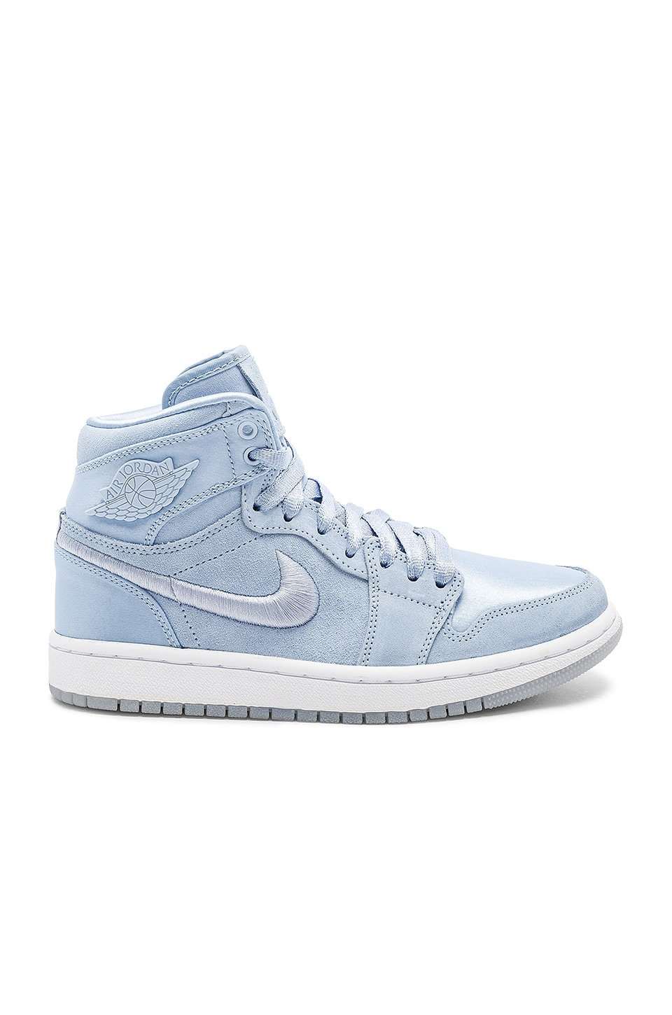 020cecd779e8ed Nike Air Jordan 1 Retro High SOH in Hydrogen Blue   White Metallic Gold