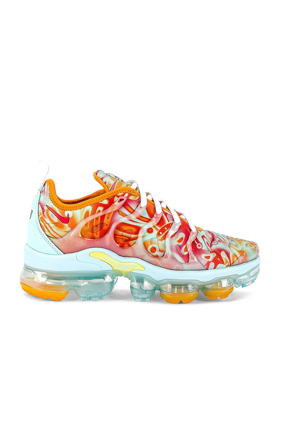 Nike Air Vapormax Plus Sneaker in Teal Tint, Ember Glow & Orange Peel