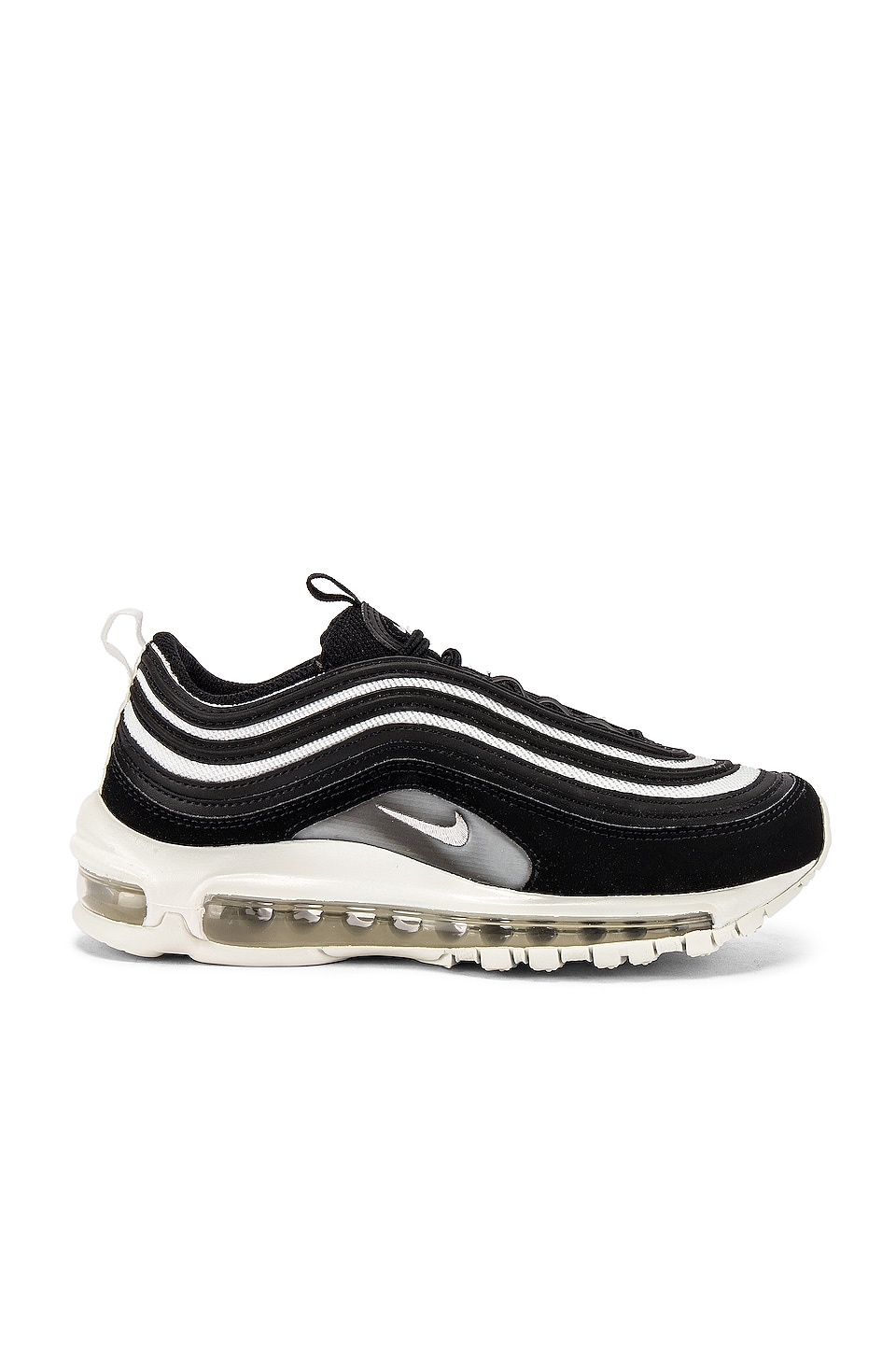 Nike Women's Air Max 97 in Black, Platinum & White