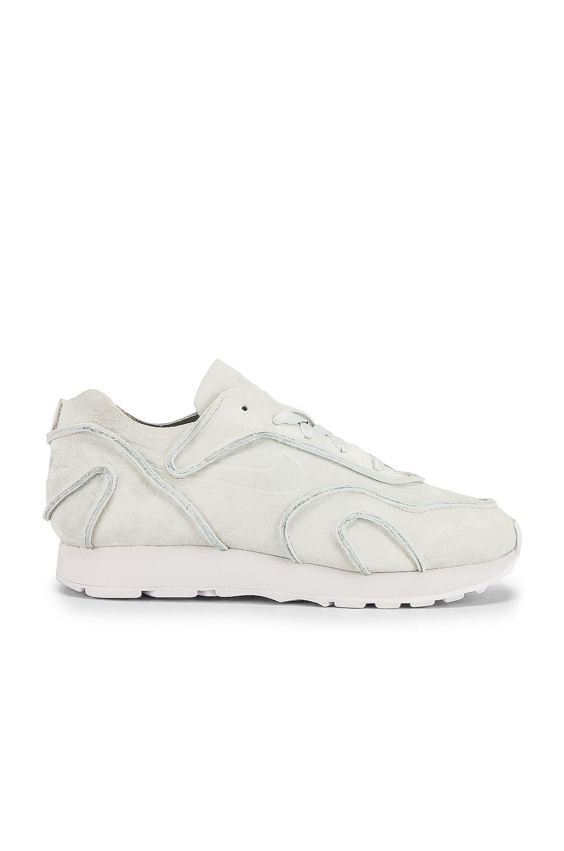 Nike Outburst Deconstruct Sneaker in Ghost Aqua & White