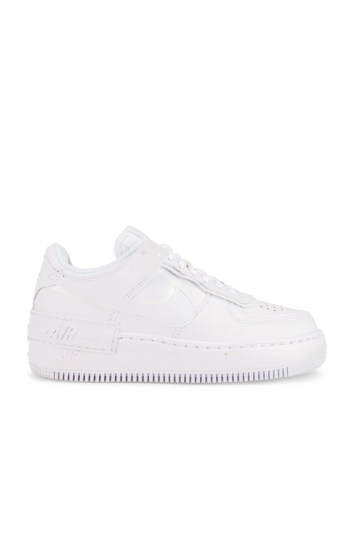 Nike Air Force 1 Shadow Sneaker in White