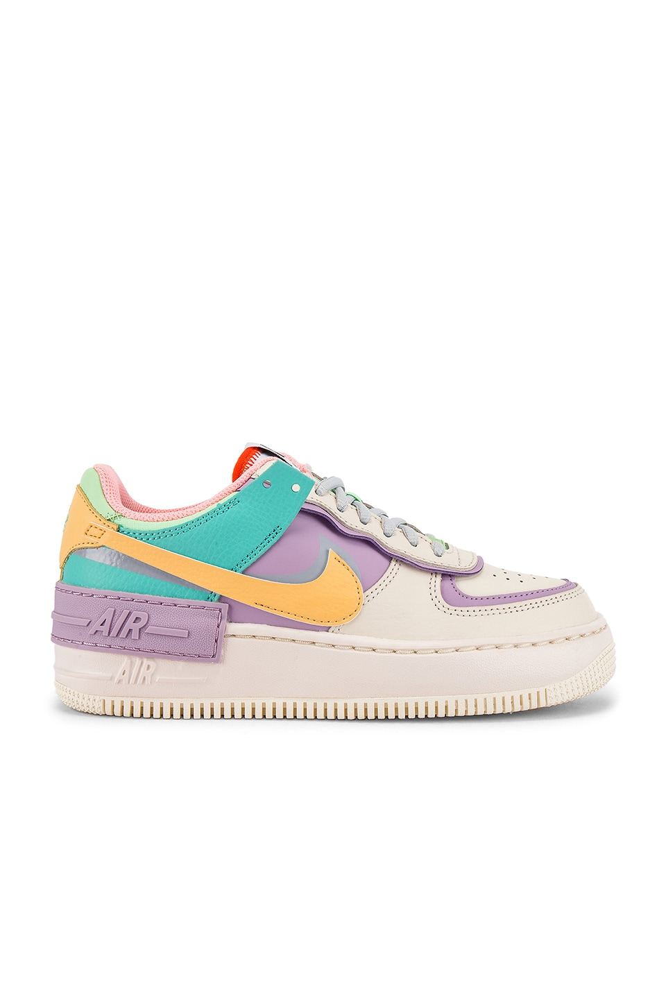 NIKE AIR FORCE 1 AF1 W Shadow Pastel Pale Ivory Pink Purple