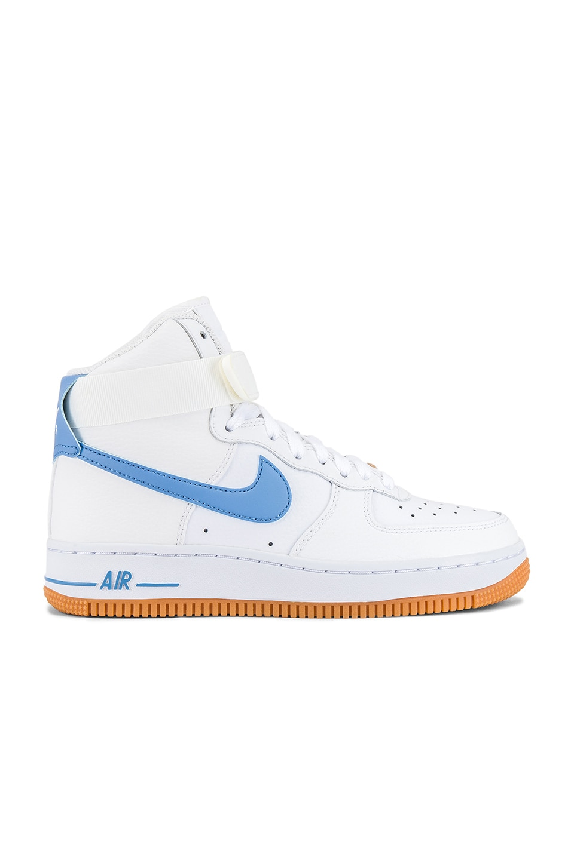 Nike Air Force One Damen Blau link