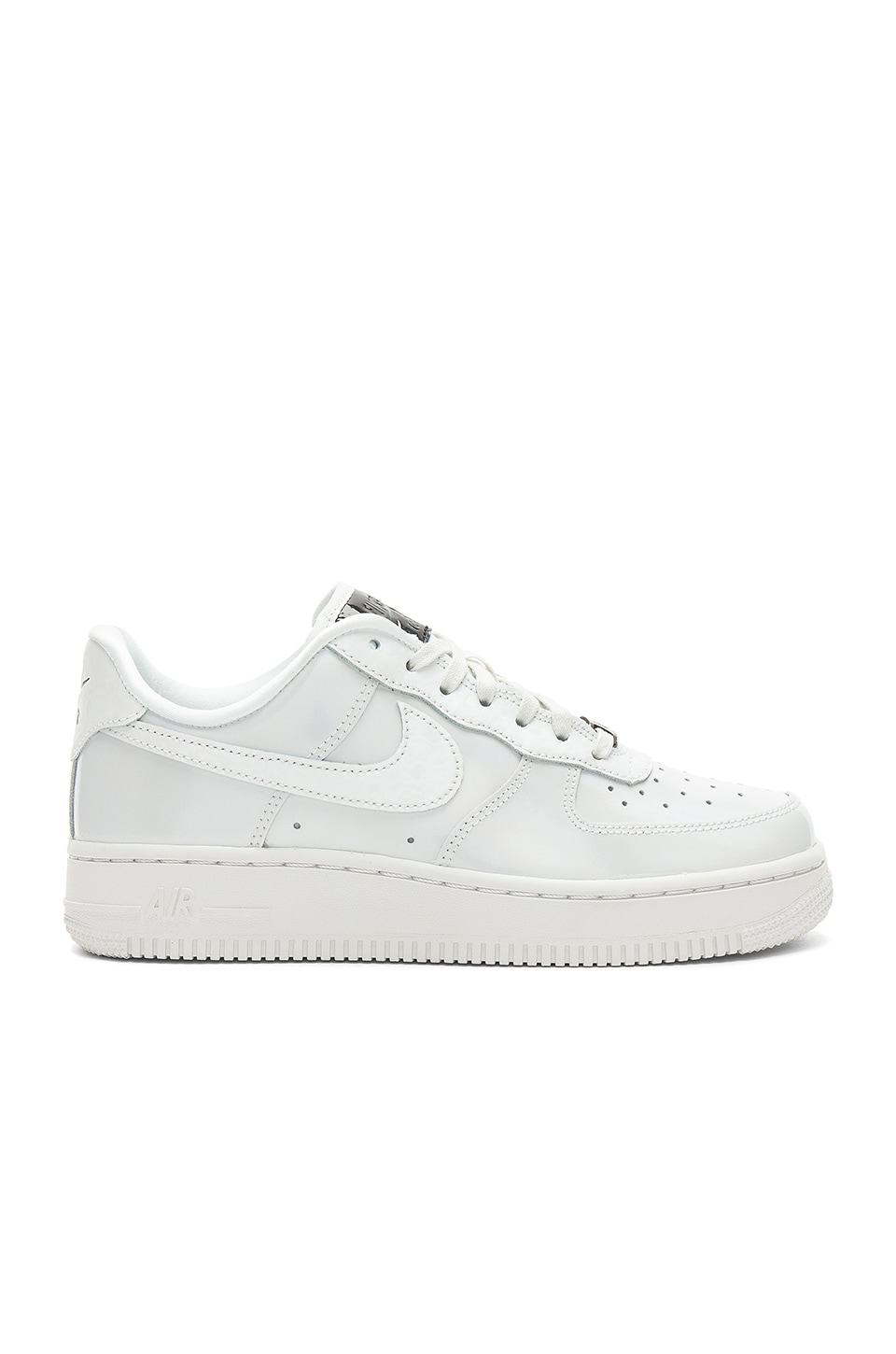 Nike Air Force 1 '07 LX in Summit White & Summit White & Black
